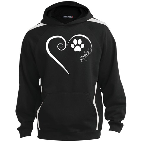 Jindo, Always in my Heart  Colorblock Sweatshirt