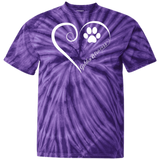 Golden Retriever, Always in my Heart Tie Dye T-Shirt
