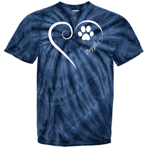 Puggle, Always in my Heart Tie Dye Tee