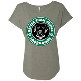 Lab-Bucks Scoop Hem Relaxed Fit Ladies Tee