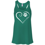 Japanese Chin, Always in my Heart Flowy Racerback Tank