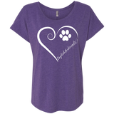 English Foxhound, Always in my Heart Ladies Super-Soft Dolman Sleeve Tee