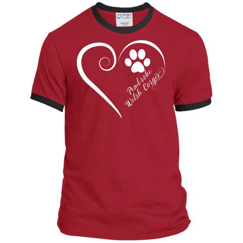 Pembroke Welsh Corgi, Always in my Heart Ringer Tee