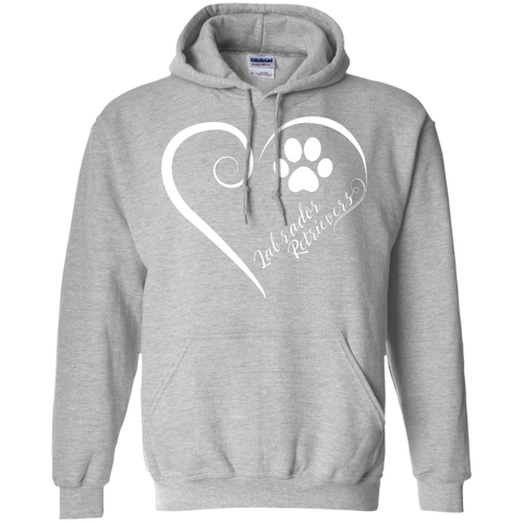Labrador Retriever, Always in my Heart Hoodie