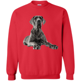 Great Dane Treat Please Unisex Gildan Crewneck Pullover Sweatshirt 8 oz.