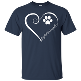 English Foxhound, Always in my Heart Tee