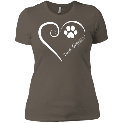 Irish Setter, Always in my Heart  Ladies' Boyfriend Tee