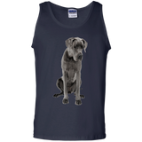 Great Dane Love Me Unisex 100% Cotton Tank Top