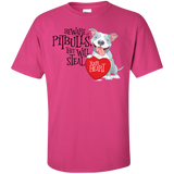 Pit Bulls Steal Your Heart Tee