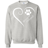 Norwegian Elkhound, Always in my Heart Sweatshirt