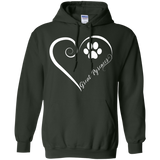 Great Pyrenees, Always in my Heart Hoodie