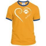 Maltese, Always in my Heart Ringer Tee
