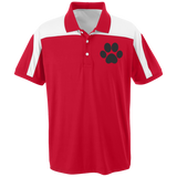 Paw Print Team 365 Colorblock Polo