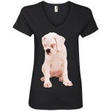 Naah, I am not Talking To You Ladies V-Neck Tee