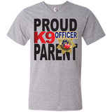 K9 Officer Men's Printed V-Neck T