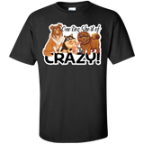 One Dog Short of Crazy Ultra Cotton T-Shirt