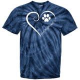 Irish Wolfhound, Always in my Heart Tie Dye Tee