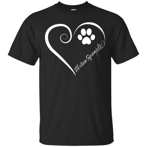Tibetan Spaniel, Always in my Heart Tee