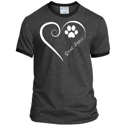 Great Dane, Always in my Heart Ringer Tee