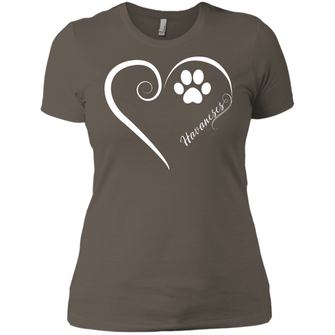 Havanese, Always in my Heart Ladies' Boyfriend Tee