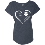 Lagotto Romagnolo, Always in my Heart Ladies Triblend Dolman Sleeve