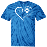 Siberian Husky, Always in my Heart Tie Dye T-Shirt