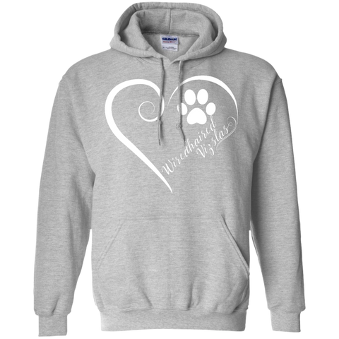 Wiredhaired Vizsla, Always in my Heart Hoodie