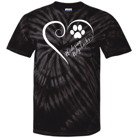Rhodesian Ridgeback, Always in my Heart Tie Dye Tee