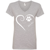 Shikoku, Always in my Heart  Ladies V Neck Tee