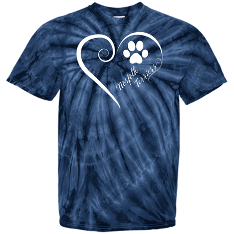 Norfolk Terrier, Always in my Heart  Tie Dye Tee