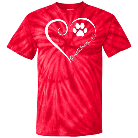 Giant Schnauzer, Always in my Heart Tie Dye Tee