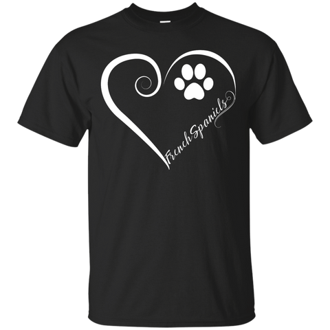 French Spaniel, Always in my Heart Tee