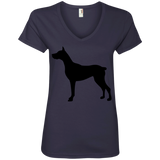 Midnight Ladies V-Neck Tee