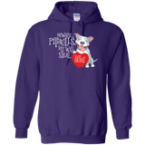 Pitbulls Steal Your Heart Pullover Hoodie 8 oz