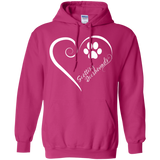 Scottish Deerhound, Always in my Heart Hoodie
