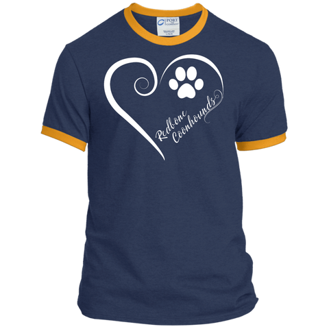 Redbone Coonhound, Always in my Heart Ringer Tee