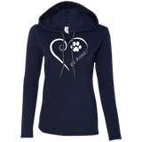 Rat Terrier, Always in my Heart Ladies T-Shirt Hoodie