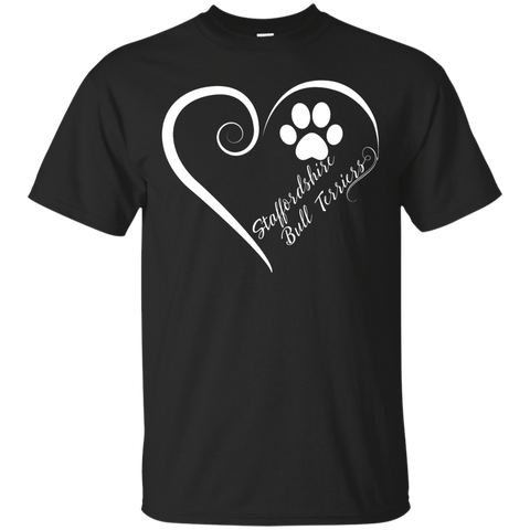 Staffordshire Bull Terrier, Always in my Heart Tee