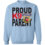 Proud K9 Officer Parent Sweatshirt