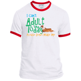 Don't Want to Adult Ringer Tee