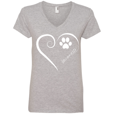 Hovawart, Always in my Heart Ladies V Neck Tee