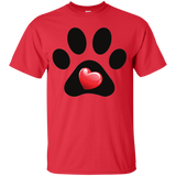 My Heart Paw Print Tee - Benefiting Jesse's Fund for Senior Dog Adoption