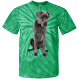 Great Dane Love Me 100% Cotton Tie Dye T-Shirt