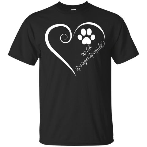 Welsh Springer Spaniel, Always in my Heart Tee