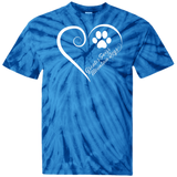 Greater Swiss Mountain Dog, Always in my Heart Tie Dye T-Shirt