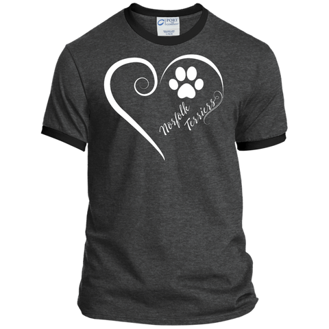 Norfolk Terrier, Always in my Heart  Ringer Tee