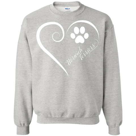 Norwich Terrier, Always in my Heart  Sweatshirt