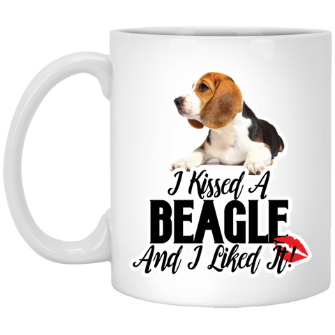 I kissed a Beagle and I liked it XP8434 11 oz. Mug