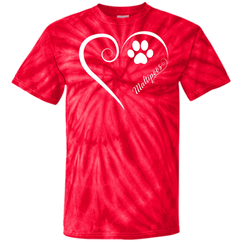 Maltipoo, Always in my Heart Tie Dye Tee