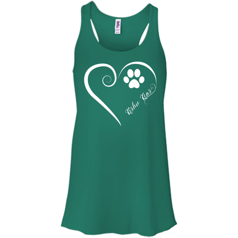 Kishu Ken, Always in my Heart  Flowy Racerback Tank